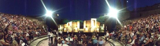 Il Teatro Grande degli Scavi d Pompei